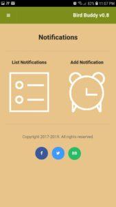 birdbuddy notifications