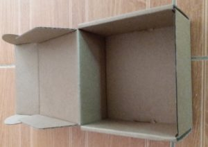 birdbuddy cardboard box scale